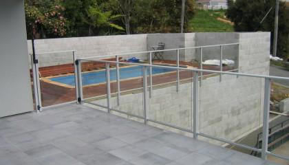 Framed Glass Pool Fences