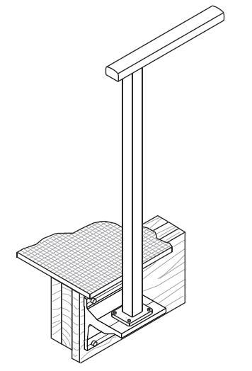 Canterbury Balustrade | Fixings Timber | Gutter Bracket