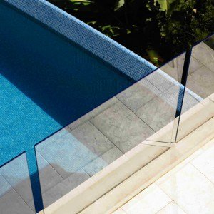 Canterbury Balustrade | Frameless Pool Fences | Grouted Channel