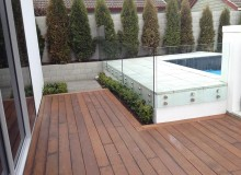 Flameless Glass Pool Fence Stand-off Fittings