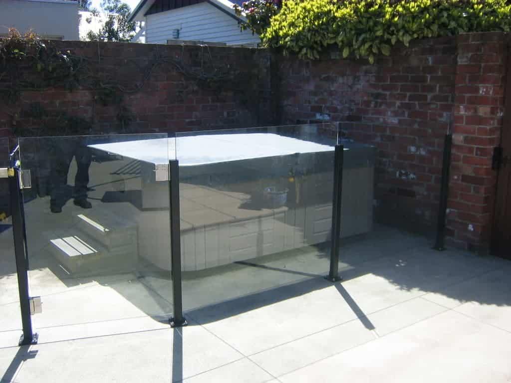 Semi Framed Pool Fences Canterbury Balustrades