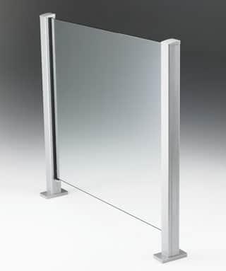 Vetro Semi Frameless Balustrade