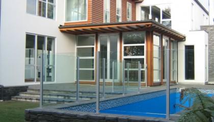 Semi Framed Pool Fences