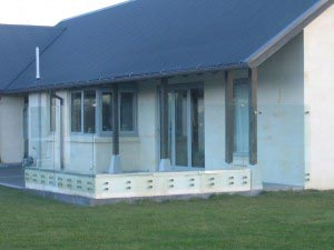 Canterbury Balustrade | Windbreaks |Face fixed stand-off fittings