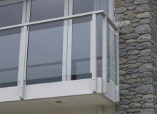 Custom Balustrade Steel Glass infill