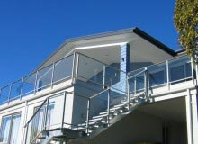 Canterbury Balustrade | Framed Glass | Avon Style | Face Fixed | Stairs