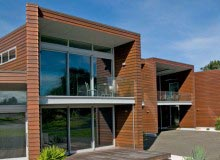 Canterbury Balustrade   Frameless Glass   Top fixed clamp channel  