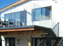 Canterbury Balustrade   Frameless Glass   Clamp Channel