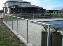 Framed Glass Pool Fence