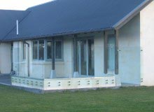 Canterbury Balustrade | Windbreak| Frameless