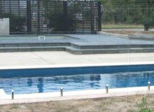 Pool Fence - Frameless - Glass Vice Clamp