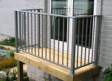 Aluminium Balustrade Top Fixed