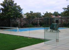 Frameless Glass - Pool Fence - Grouted