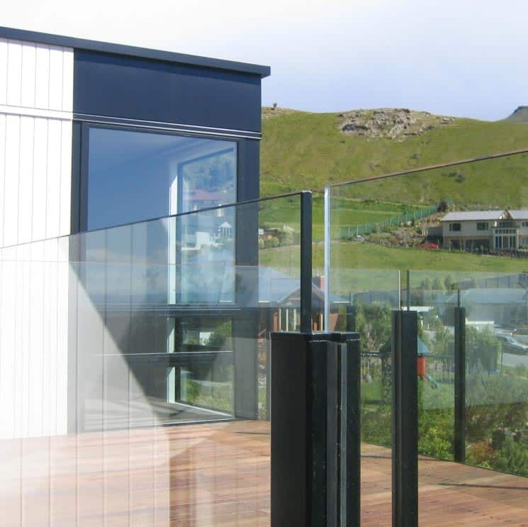Semi Frameless Glass Balustrades Canterbury Balustrades