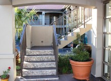 Aluminium Balustrade Top Fixed External Stair