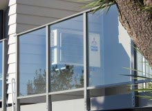 Canterbury Balustrade | Framed Glass | Avon Style | Face Fixed | Gutter Under