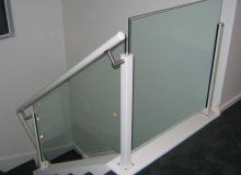 Canterbury Balustrade| Aluminium Handrail | Side Fixed Post