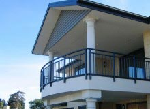 Aluminium Balustrade Curved Top Rail