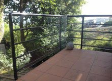 Custom Balustrade - Retro Fit Glass Make Safe
