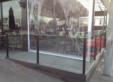 Windbreak Cafe Vetro Style