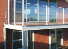 Canterbury Balustrade | Windbreak| To Match Balustrade