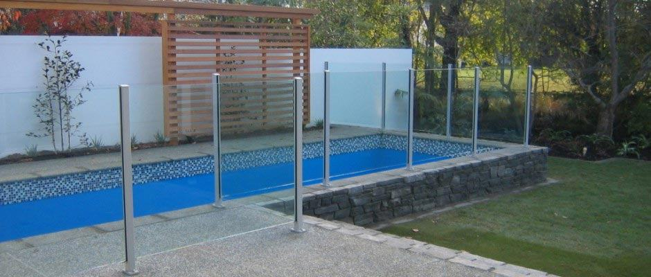 Semi Framed Glass Pool fences