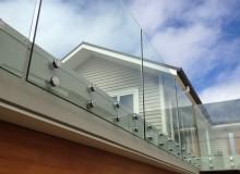 Canterbury Balustrade   Frameless Glass   Round Standoff