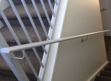 Canterbury Balustrade | Shaped Handrail to match balustrade | VRE Section