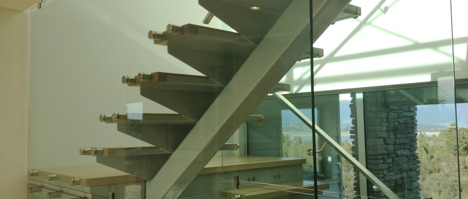 Frameless Glass Internal Stair
