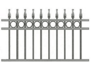 Canterbury Balustrade   Classic Spear Fences