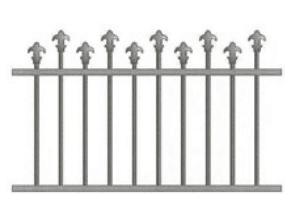 Canterbury Balustrade   Hi-Lo Spear Fences