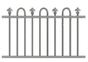 Canterbury Balustrade | Loop & Spear Fences