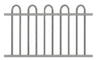 Canterbury Balustrade | Loop-Top Fences