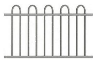 Canterbury Balustrade | Loop-Top Fences
