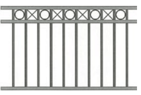 Canterbury Balustrade | Polo Ring & Cross Fences