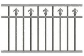 Canterbury Balustrade | Polo Spear Fences