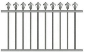 Canterbury Balustrade   Traditional Spear Fences
